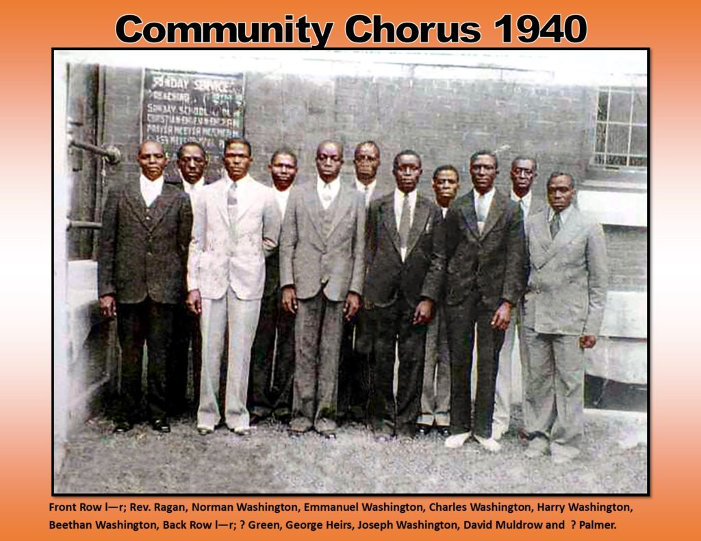 COMMUNITY CHORUS 1940